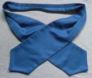Ascot Foulard Homme Mariage Chouchou Ruché Taille Unique Bleu Ciel-afficher Le Titre D'origine Soulager La Chaleur Et Le Soleil