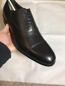 Salvatore-Ferragamo-New-675-Cap-toe-Leather-Shoes-10-D