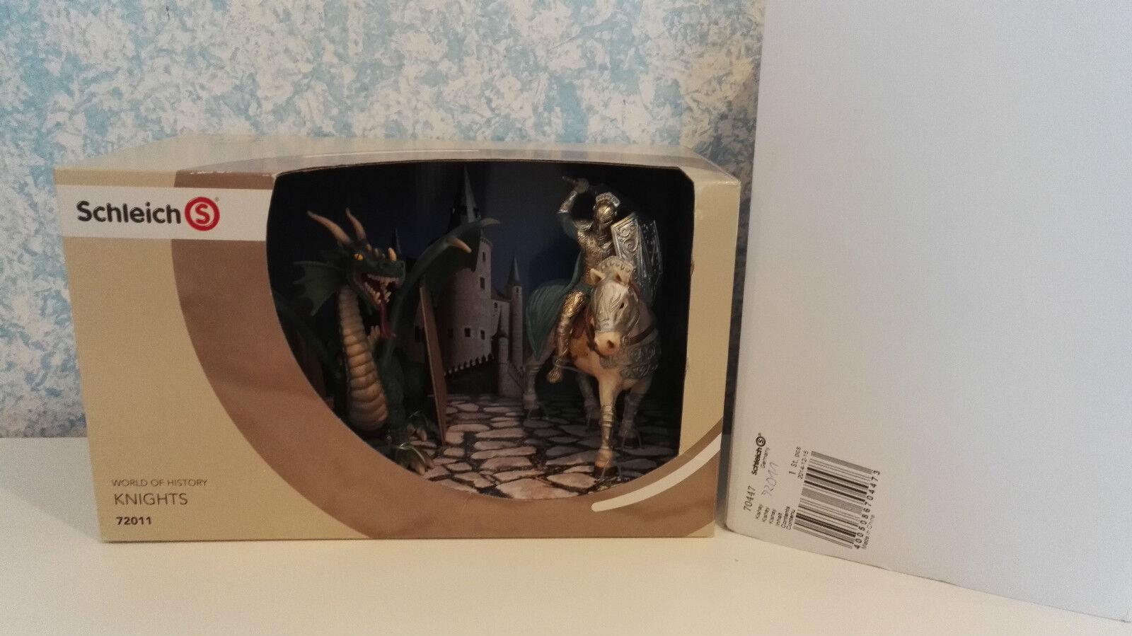 72011 Schleich World of History Ritter Xarox + Drache Sonderedition Neu mit OVP