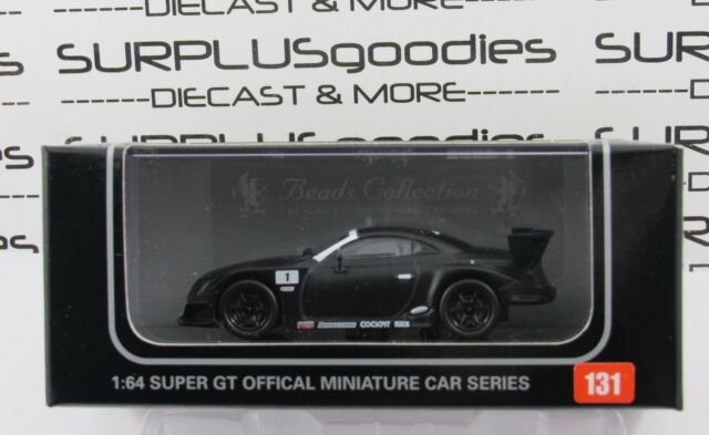 KYOSHO 1:64 Scale Beads Collection ZENT CERUMO LEXUS SC Test Car 2006 #06491B