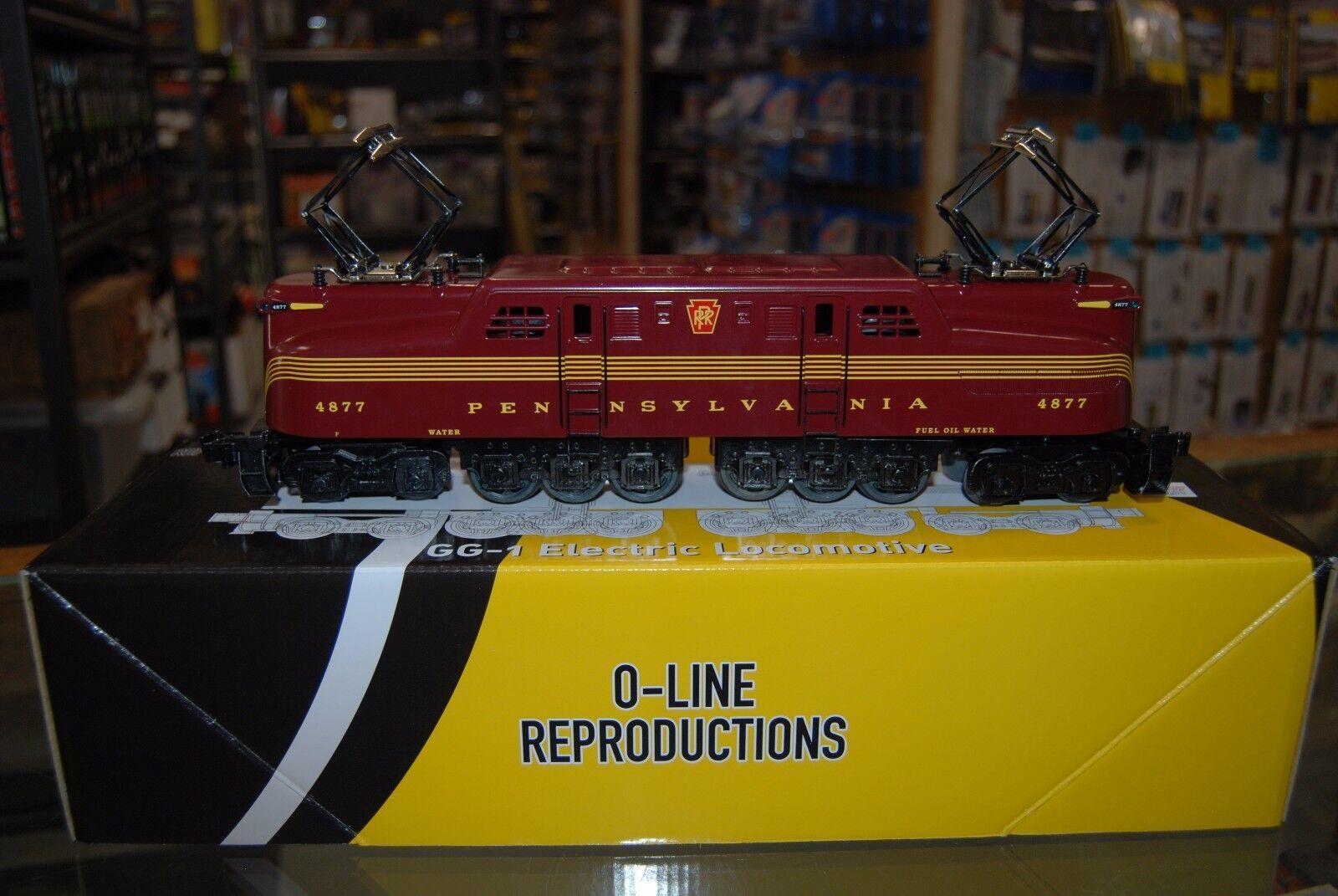 O Scale OLR503 GG-1 PRR Tuscan 5-Stripe