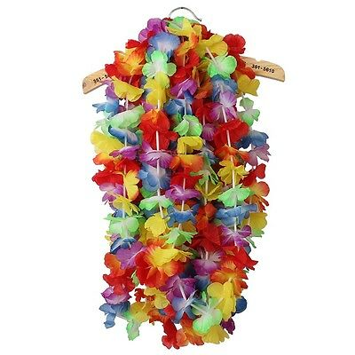 Flower Garlands Hawaiian/Tropical Party Hen Night Fancy Dress Necklace 10PCS