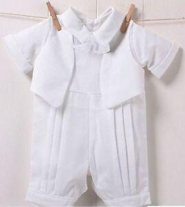 Baby-Infant-Boys-Christening-Prop-Cute-Romper-Gentlemen-Suits-Wedding-Outfits