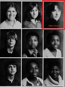 Excellent 1980Amp039S John Cusack High School Yearbook High Fidelity 1408 Hairstyles For Men Maxibearus