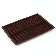 Gofres marrón silicona molde de muffin Bandejas para Hornear Molde De Torta Bandeja Waffle libre de BPA