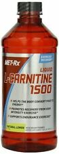 Met Rx Liquid L-Carnitine 1500 Natural Lemon 16 oz