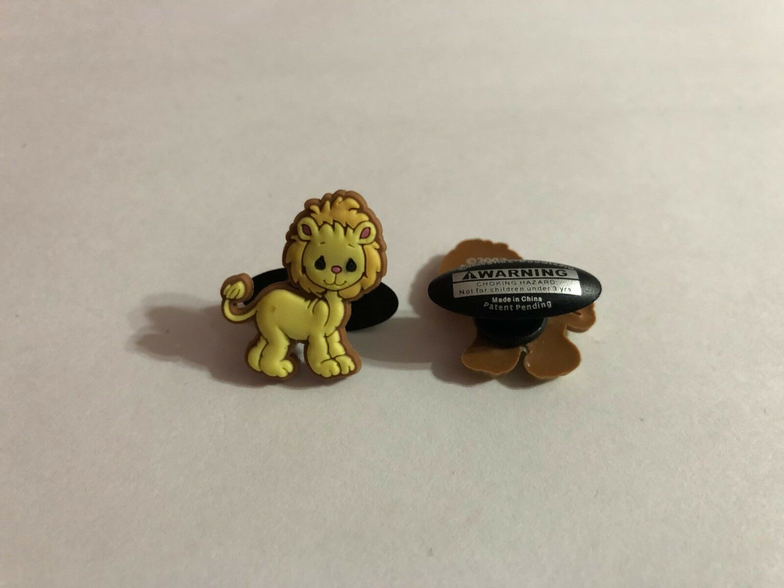 Lion Cub Shoe-Doodle goes in holes of Rubber Shoes or Crocs Shoe Charm PMI3002