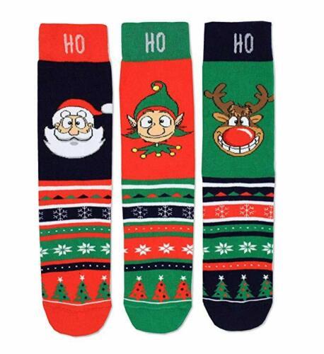 United Oddsocks mix di 3 Calze da uomo di Natale Novità-idee regalo per gli uomini