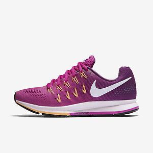 Bajar más Encogimiento  Feminino, Nike Air Zoom Pegasus 33 tamanho 12 Rosa/branco 831356-602 Frete  Grátis | eBay