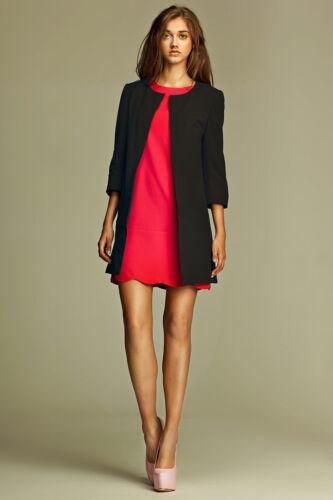Ensemble robe rose veste noire tenue de soirée femme mode NIFE Z04 S28