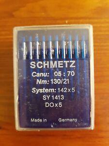 100 St. Nähmaschinennadeln Nähnadeln Nadeln SCHMETZ System 142x5 Nm 130 - Hamburg, Deutschland - 100 St. Nähmaschinennadeln Nähnadeln Nadeln SCHMETZ System 142x5 Nm 130 - Hamburg, Deutschland