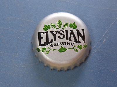 ELYSIAN BREWING Beer CROWN Bottle CAP with dark HOPS WASHINGTON Seattle