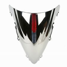 New Chrome Double Bubble Windshield Windscreen For YAMAHA YZF R6 2003-2005 2004
