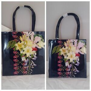 TED-BAKER-TANACON-TRACON-BOTANICAL-TRAIL-LARGE-SMALL-ICON-BAG-NAVY