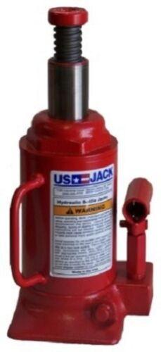 US JACK D-51125 12 Ton Bottle Jack 100 /%  Made In USA