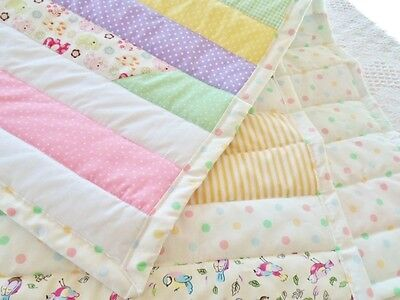 Quilting Kit Cath Kidston Patchwork Fabric Complete Quilt Kit Baby Blanket Easy!