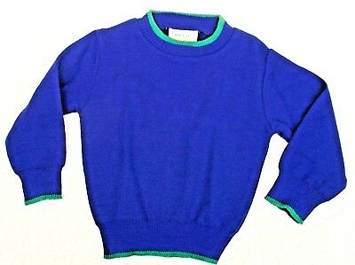 Liberale Vintage Baby Jumper Unused 6 Months Chest 18 Windsor Long Sleeve Sweater 1980s Tempi Puntuali