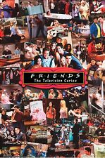 FRIENDS - TV SERIES COLLAGE POSTER - 24x36 - SHOW 51887