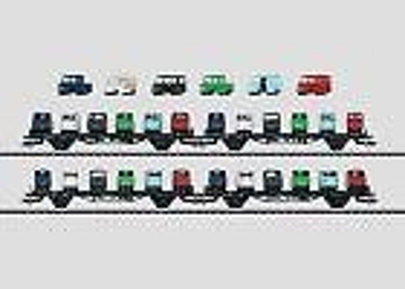 MÄRKLIN 45099 Autotransportwagen-Set der DB beladen  NEU in OVP