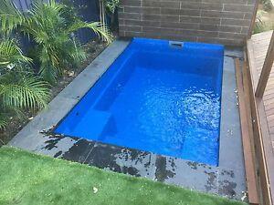 4m x new design modern slimline plunge kit pool ebay for Garten pool 2 5m