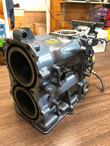 Details about 1989 Yamaha 25 HP 2 Stroke Outboard Motor Engine Cylinder  Block Freshwater MN