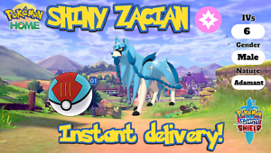 SHINY-ZACIAN-6IV-pokemon-sword-and-shield-home-legendary-FAST-DELIVERY