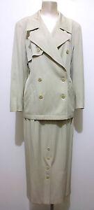 Vintage 46 donna Jacket da Sz Completo Escada '80 Donna l Completo Tailor P8txpndP