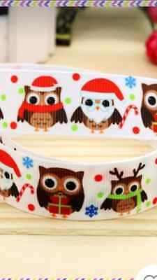"1M 22mm 7//8/""  SANTA FATHER CHRISTMAS BELT GROSGRAIN RIBBON 99p CAKE PARTY XMAS!!"