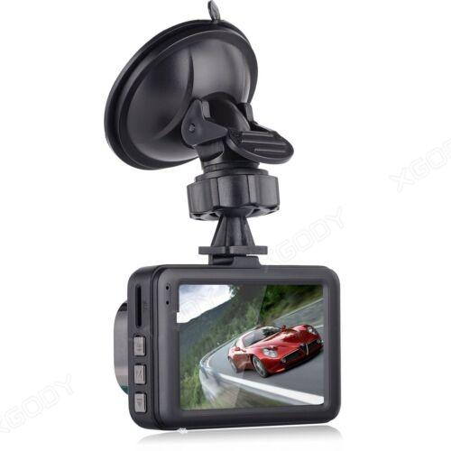 """HD cámara de vehículo 3/"""" en tablero de automóvil Grabadora De Video Cámara DVR HDMI G-Sensor de Reino Unido"""