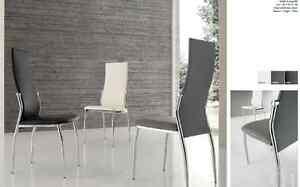 Soggiorno Pranzo Cucina : Sedia in ecopelle soggiorno cucina sala da pranzo design moderno