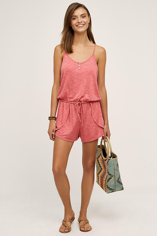 New Anthropologie Terry Lounge Romper by Saturday Sunday Large L