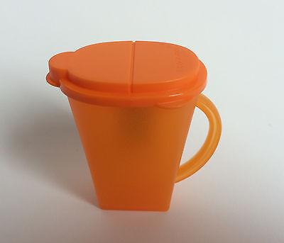 Tupperware Mini Pitcher Magnet Orange New