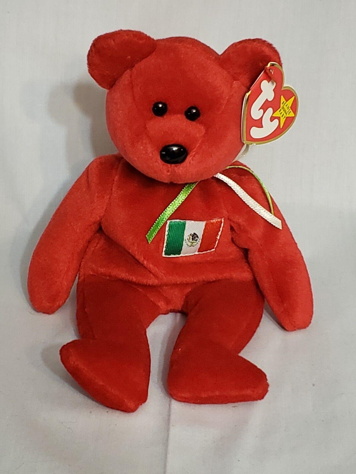 Beanie babys osito - selten (1999) - ein sammlerstück - sehr guten zustand