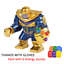 Marvel Avengers ENDGAME 2019 LEGO Minifigures THANOS Infinity Gauntlet Stones