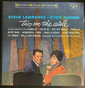 STEVE LAWRENCE & EYDIE GORME TWO ON THE AISLE VINYL LP [Deluxe 3500 Series]