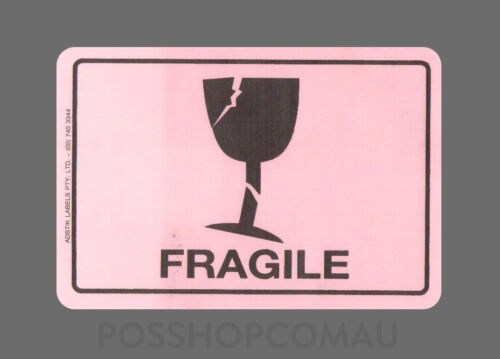 500 x Shipping Label Fragile Label Stickers