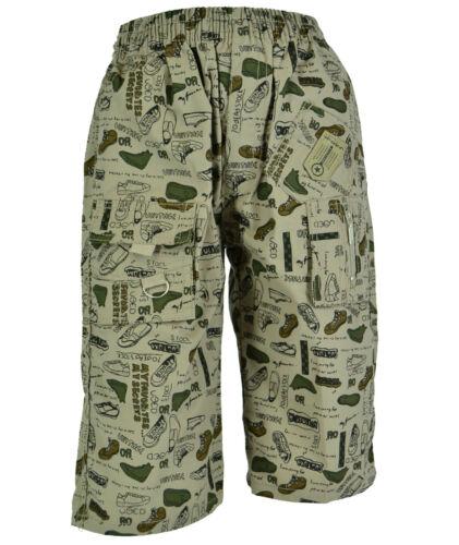 Muster Jungen Kinder Shorts Bermuda 3//4 kurze Hose Sommer Jungs Knaben Gr.98-146