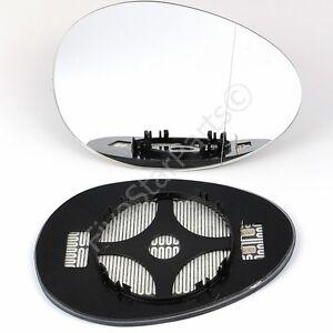 Right Driver Side Wide Angle Mirror Glass For Mini Cooper One 2006