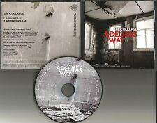 ADELITAS WAY The Collapse w/ RARE EDIT PROMO Radio DJ CD single 2011 MINT