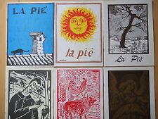 1994-LA PIE'-ALDO SPALLICCI-RASSEGNA BIMESTRALE-ANNATA COMPLETA