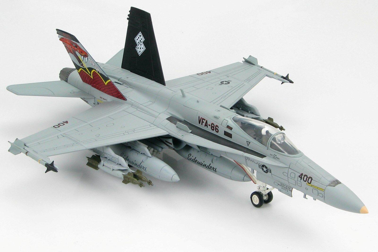 Hobby Master, HA3506, F  A -18C Hornet, USN VFA -86 Sidewinders, MCAS Beaufort