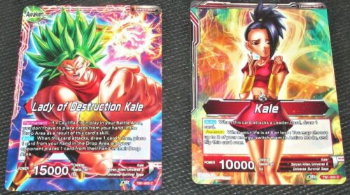 Lady of Destruction Kale TB1-002 Dragon Ball Super CCG Mint