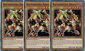 3x 1ST EDITION BLACK SKULL DRAGON LEGENDARY LDS1-EN012 COMMON YUGIOH UNPLAYED