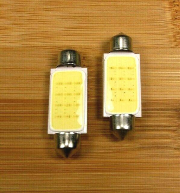 Clearance 10 BBT 41mm 12 v Festoon Cool White LED Marine Grade Light Bulbs