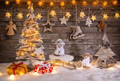 STUDIO PHOTO PHOTOGRAPHY BACKDROP WOOD BRICK WALL CHRISTMAS HALLOWEEN BACKGROUND
