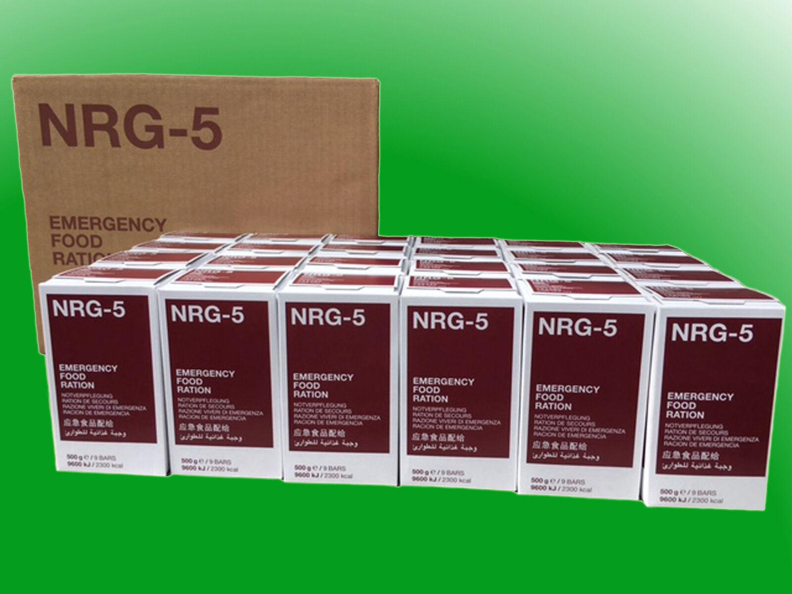 ( kg) 1 SCATOLA nrg-5 razione K, kriesenvorsorge, Survival, a lungo termine CIBO