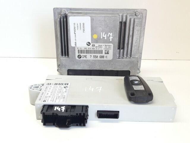 Bmw 1er E87 116i Motorsteuergerät Dme 7550688 Cas 2 6964051 Günstig Kaufen Ebay