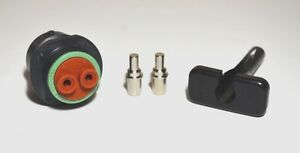 Deutsch HDP20 100 AMP Genuine Connector 4AWG Solid Contact & Tool Kit, USA