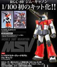 P-Bandai MG 1/100 GGC-08 GM Cannon E.F.S.F.Gundam Models Hobby Bandai