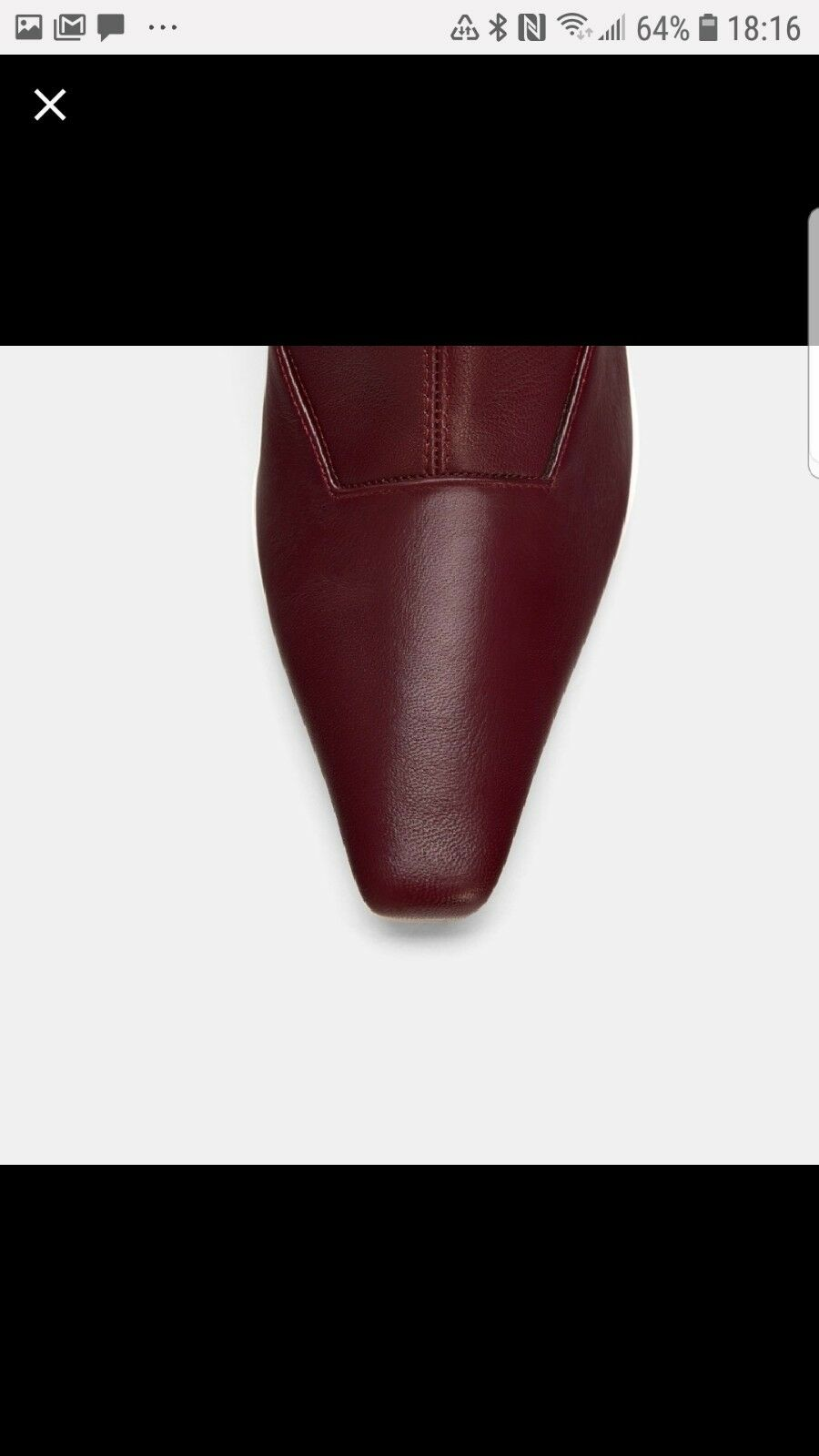 Zara Heel Leather Leather Leather Ankle Boots e858d2